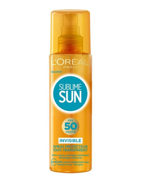 Brume protectrice SUBLIME SUN 50 L'OREAL