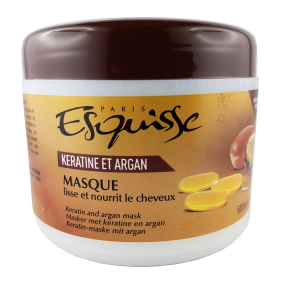 Masque cheveux Kératine & Argan 500ml ESQUISSE PARIS