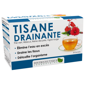 Tisane DRAINANTE 20 sachets DISTRICEUTIQUE