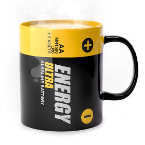 Mug ENERGY en céramique 300ml BALVI