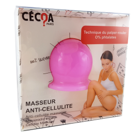 Ventouse anti-cellulite en silicone CECOA PARIS