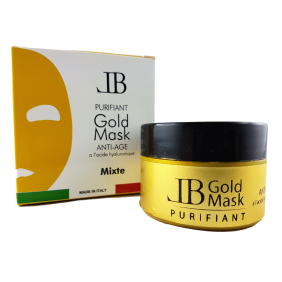Masque noir GOLD MASK Mixte LAURA BEAUTE