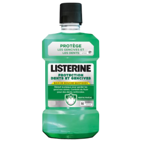 Bain de bouche LISTERINE 500ml protection dents et gencives