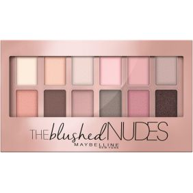 Palette fards à paupières THE BLUSHED NUDES MAYBELLINE