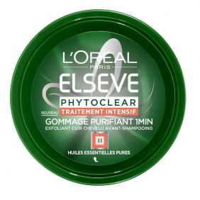 Masque gommage cheveux PHYTOCLEAR L'OREAL ELSEVE