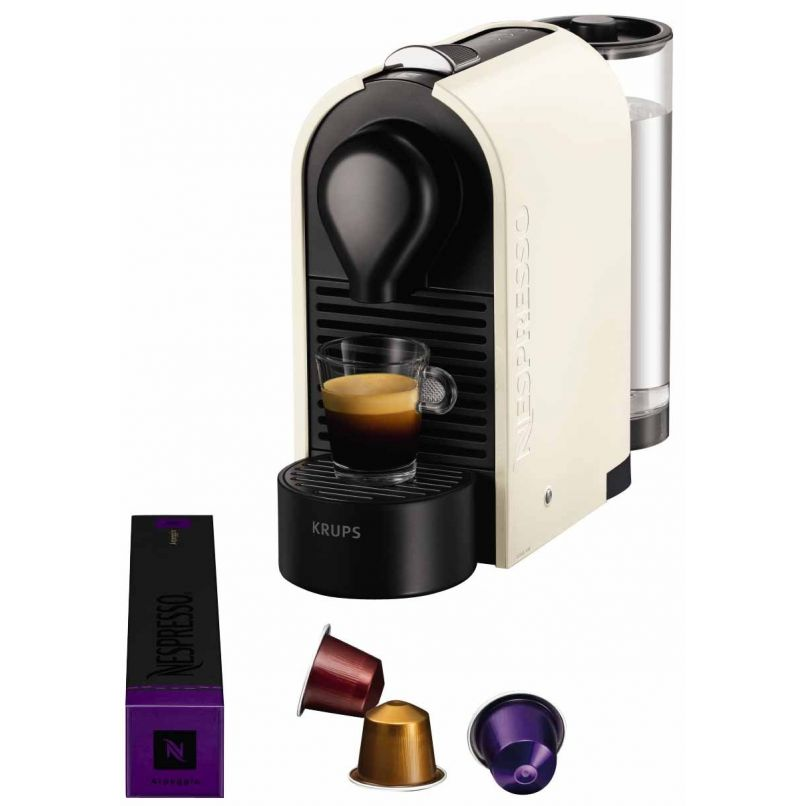 cafeti re krups u yy1301 pour capsules nespresso happy stock. Black Bedroom Furniture Sets. Home Design Ideas