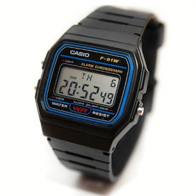 Montre à quartz CASIO F-91W