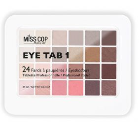 Palette maquillage MISS COP EYE TAB 1