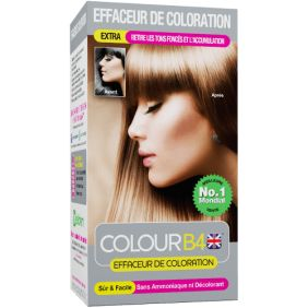 Effaceur de coloration COLOUR B4