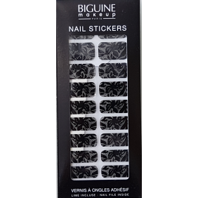 "Nail stickers BIGUINE ""DENTELLE"""